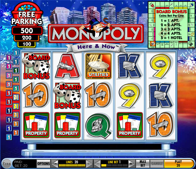Monopoly Here and Now Slot Machine – Play for Free Online